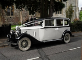 1930s Rolls Royce for weddings in Chichester